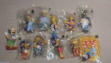 10 x The Simpsons Burger King Figuren 2001 ungeöffnet + 1x lose