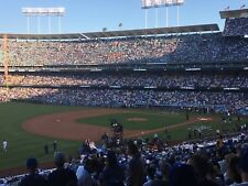 2 Tickets Los Angeles Dodgers vs Milwaukee Brewers Tues 7/31 Loge 153 Wood
