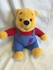 "Vintage 1997 Disney Mattel Hug N Wiggle Giggle Winnie The Pooh Talking 15"" Bear"