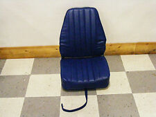 Highback Deluxe Fold-Down Seat (Solid Blue)