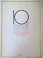 CNAC Magazine no special (janv 1987) 10eme anniversaire Beaubourg/Pompidou ART