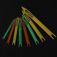8 Pcs Fishing Netting Needle Repair Net Line Plastic Shuttles Mending Weaving