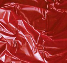 PVC Lack Latex Bettlaken Rot SexMAX WetGames 180 x 220 cm Spielwiese JOYDIVISION