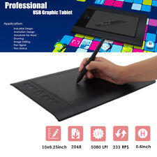 Huion H610-Pro 10''x6.25'' USB Art Graphics Drawing Tablet Pad with Digital Pen