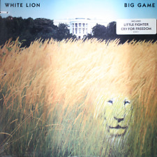 WHITE LION Big Game - NEW SEALED 1989 Vinyl LP Record Hard Rock Heavy Metal Glam