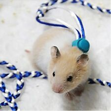 Hamster Mouse Squirrel Sugar Glider Small Animal Leashes Ropes Harness IC1C
