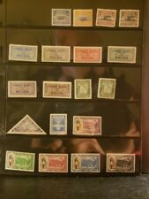 Bolivia Airmail Stamps Lot of 83 - MNH - see details for list