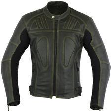 Giacche in pelle regolabile per motociclista taglia M