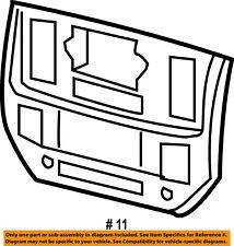 Dodge CHRYSLER OEM Ram 2500 Instrument Panel Dash-Center Bezel Trim 5JZ131Z2AD