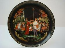 BRADEX TIANEX RUSSIAN LEGENDS & FAIRIES THE PRIEST AND HIS SERVANT BALDA PLATE