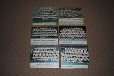 Lot of (6) Different AL & NL Champions Team Newspaper Colofotos-Nice!