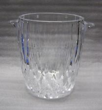 Cristal D'Arques Durand Bretagene Champagne Set Ice Bucket and 4 Glasses