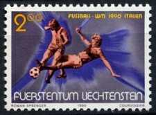 Liechtenstein 1990 SG#990 World Cup Football MNH #D59567