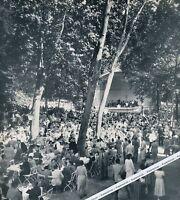 Bad Cannstatt - Kursaal Anlagen - Konzert - 1955 oder früher ?