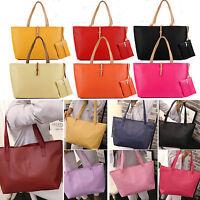 Womens Faux Leather Large Shoulder Bag Messenger Hobo Satchel Tote Purse Handbag