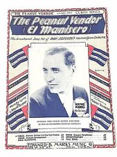 """Vintage Cuban Song """"The Peanut Vendor"""" Sheet Music Dated 1930"""