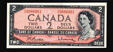 1954 Canada 2 Dollars Paper Money Gem Uncirculated (A4)