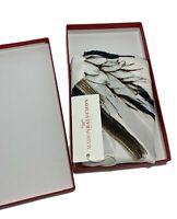 MAISON BALUCHON SILK NECK SCARF, IN BOX, $290