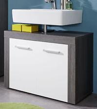 Bad Waschbeckenunterschrank Miami In weiß