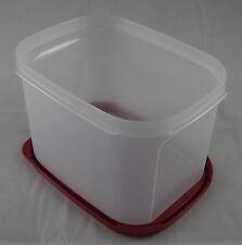 Tupperware A 69 Eidgenosse Kompaktus Kompakt 1,9 l rechteckig Weiß / Rot Neu OVP