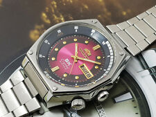 RARE Vintage Orient SK KD King Diver Automatic Red Dial gents.