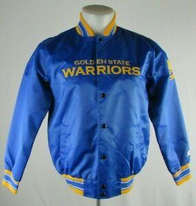 Golden State Warriors Starter Snap Up Light Weight Jacket Men's NBA M L XL