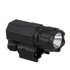 Linterna LED compacto táctica 2-modo 1600LM luz de antorcha de caza para pistola Pistola