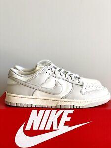 NEW Nike Dunk Low Sail Light Bone Cashmere Pale Ivory DD1503-107 SIZE 10.5W (9M)