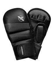 Hayabusa T3 7oz Hybrid MMA Gloves - Black/Grey, XL