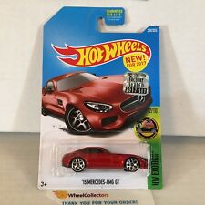 '15 Mercedes-AMG GT #338 * RED * 2017 Hot Wheels FACTORY SET Edition * NA20