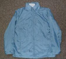 BNWOT Blue/Grey Lightweight Hooded Raincoat and Thick Fleece Gilet, size 10//12