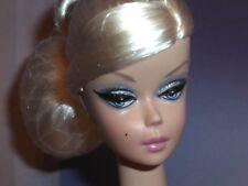 Silkstone Barbie BFMC Nude Cocktail Dress Doll Platinum Side-Part ~Free U.S Ship