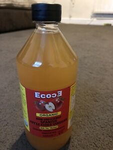 Ecoce ORGANIC RAW UNFILTERED APPLE CIDER VINEGAR WITH THE MOTHER 568ML New