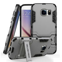 Full Body 360° Shockproof Armor Hard Case Back Cover For Samsung S5 S6 S7 Edge +