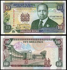 Kenia 10 chelines (P24e) 1993 UNC