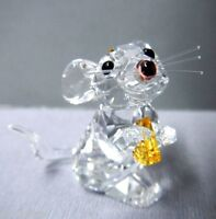 MOUSE WITH CHEESE CRYSTAL 2013 SWAROVSKI #5004691