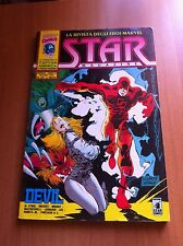 STAR MAGAZINE nr 20 STAR COMICS 92 MARVEL CAPITAN AMERICA  X-MEN