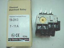 FUJI Thermal Overload Relay TR-ON/3 TR-0N/3 7-11A new in box Free ship