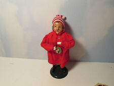 Byers Choice Retired 1989 Pajama Boy with Candle