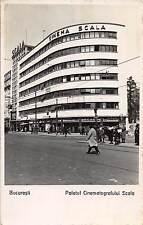 Bucuresti Romania Palatul Cinematografului Scala Real Photo Antique PC (J13791)