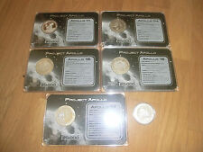 SIX Project Apollo medals - Apollo 11, 13, 14, 15, 16, 17
