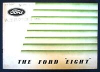FORD EIGHT CAR SALES BROCHURE CIRCA 1939.