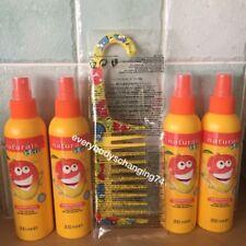 Avon~Naturals KIDS Crazy Hair Tamer~MAGNIFICENT MANGO~x4 Lots + Detangling Comb