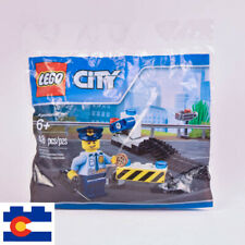 Lego City Police Road Block Set 2017 6182882 In Polybag New Sealed Speed Trap