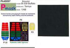 Model Maker 1/48 BREWSTER B-339 BUFFALO Paint Mask Set Tamiya Kit