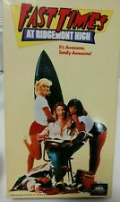 Fast Times at Ridgemont High (VHS, 1996) Sean Penn Jennifer Leigh Judge Reinhold