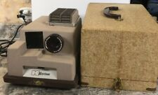 Vintage Keystone K-300 Slide Projector with Case
