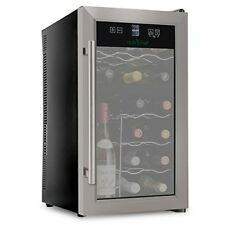 NutriChef Bottle Dual Zone Thermoelectric Cooler Srore Chiller Countertop Lcd Gi