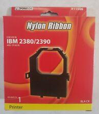 Porelon #11506 Nylon Ribbon - New in Box IBM 2380/2390 - Black