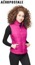 NEW Aeropostale Womens Vest Pink Puffer Quilted Puff Jacket (sizes:XS/S/M/L)